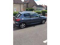 Peugeot 206 1.4 Sport 55 Plate 69,231 miles
