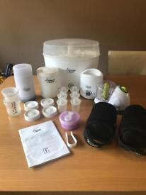 Tommee tippee steriliser and accessory set