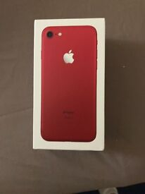 iPhone 7 Red on EE network 128gb