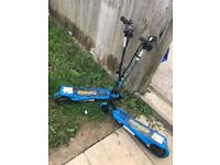 2 electric scooters for sale