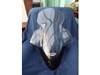 HONDA PCX 125cc SCOOTER GENUINE GIVI LARGE SCREEN,(2010-14) AS NEW CONDITION.