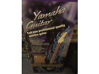 Yamaha Electric Guitar ERG121 + Amp GA-10 + Gig Bag