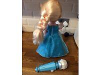 Frozen sing a long Elsa doll