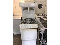 White Parkinson Cowan Eye Level Grill Gas Cooker Fully Working Order Just £40 Sittingbourne