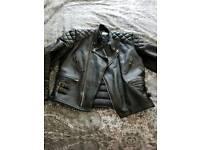 Motorbike jacket vintage 46