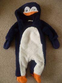 Penguin pramsuit 3-6 months