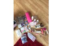 Selection of nail items