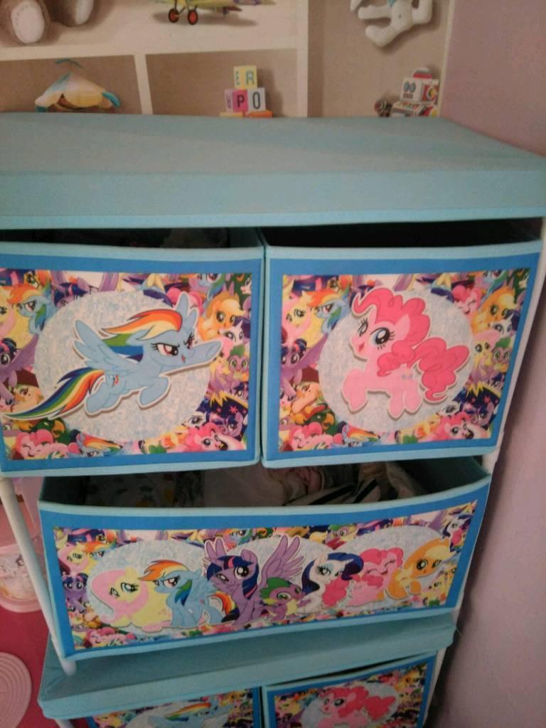 My little pony storage