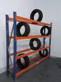 Tyre Racking, Tyre racking, Garage racking, Breakers yards. £130.00 + VAT