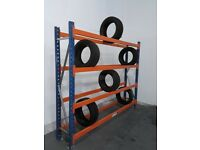 Tyre Racking, Tyre racking, Garage racking, Breakers yards. £130.00 + VAT
