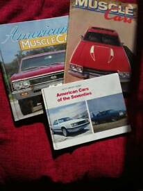 MUSCLE CAR BOOKS