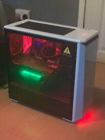 Gaming PC - 32GB DDR4, 4.2GHZ Quad Core, GeForce GTX 1080 8GB, 3TB SATA III 3.5 Hard - 3 YR warranty