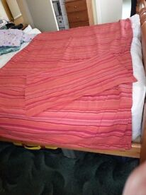 Striped Duvet and pillow case set - Chatham