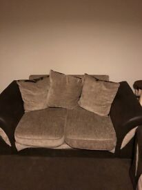 Two 2 seater sofa's free for collection.