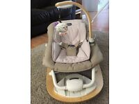 Chicco I-Feel Bouncer, hardly used, great condition, £25 o.n.o. (collection only)
