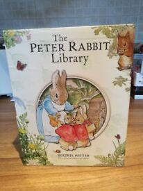 Excellent Condition Beatrix Potter The Peter Rabbit Library