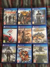 Mixed Games (PS3,PS4,PC)