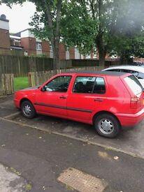 VW Golf 1.4 Petrol. Long MOT and some SH
