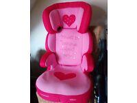 Princess car seat Group2/3