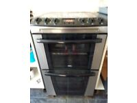 Zanussi freestanding electric double oven zkc5540x