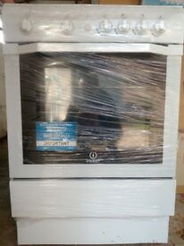 indesit gas cooker with grill