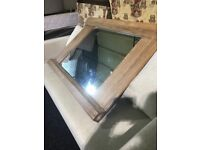 New large solid wood MIRROR