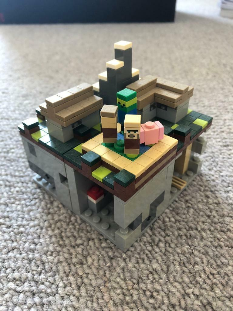Lego Minecraft Micro World The Village In Bow London Gumtree