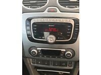 SONY CAR STEREO WITH CODE