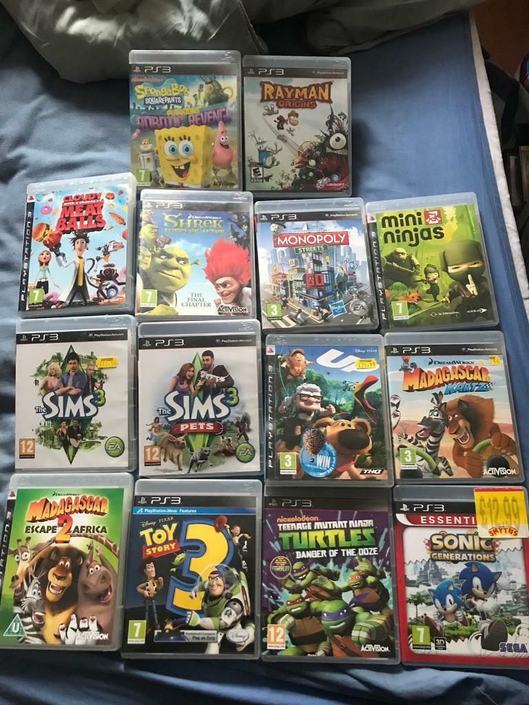 Kids Ps3 games | in Shirehampton, Bristol | Gumtree