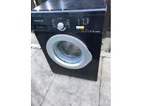 Daewoo washing machine in black and silver door 6KG