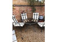 Garden furniture/patio set