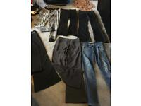 Bundle ladies trousers size 8 used 7 items £10