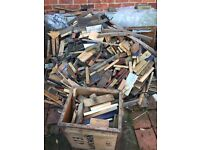 Free wood for wood burning stove/kindling (or other?)