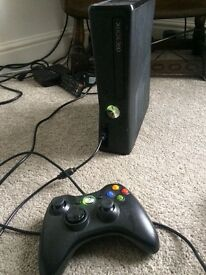 Xbox 360 250gb and 32 games
