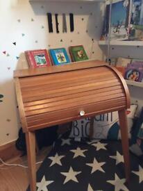 Vintage Retro Mid Century Children's School Desk Writing Bureau