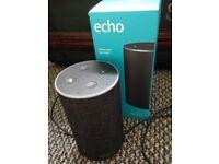 Amazon Echo boxed.