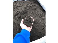 Topsoil for sale bagged really black