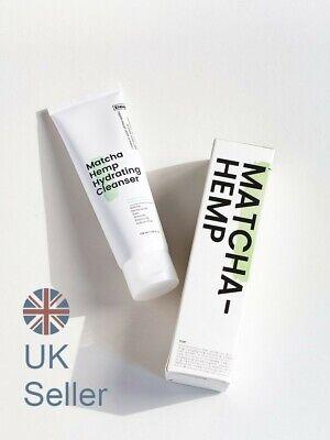 KRAVE BEAUTY Matcha Hemp Hydrating Cleanser, 120ml, Fast Shipping, UK Seller