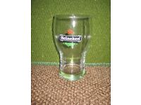 Heineken Celebratory Wider Than Usual Pint Glass for £3.00