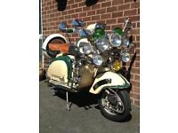 Lambretta Original MOD Scooter 1960 Li 150 S2 (Reg125) with loads of Extras **Look & Read**