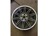 GENUINE BMW MV4 19 INCH REAR ALLOY WHEEL E90 E91 E92 E93