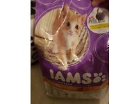 IAMs 2.5kg kitten food unopened
