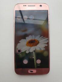 Samsung s7 rose gold 32gb