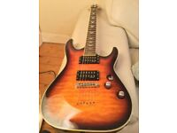 "2006 Schecter Omen 6 "" Diamond Series"" Extreme. ( stunning Vintage Sunburst finish )"