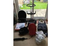 Stokke xplory v3 pram plus lots of accessories