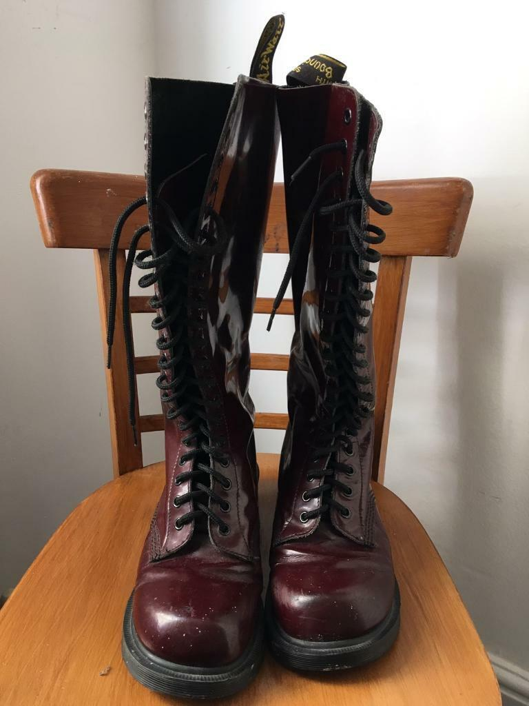 678fc5251e7 Dr. Martens/ Doc Martens 20-eye boots UK size 8 (Made in England ...