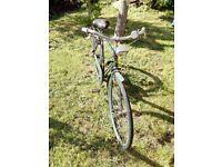 Vintage retro Gents ladies bikes cycle bike