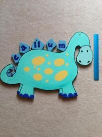Callum Dino wall decoration