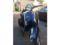 Excellent Vespa PX 125, very low mileage, 12 months MOT & tax