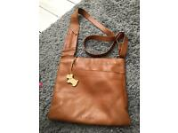 Leather cross body handbag Radley